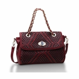 Urban Expressions Mclane Shoulder Bag - Red