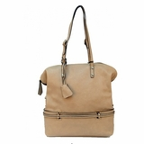 Urban Expressions Melinda Handbag Vegan Leather Purse - Natural