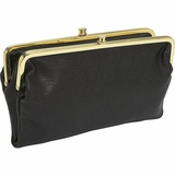 Urban Expressions Sandra Framed Wallet - Black