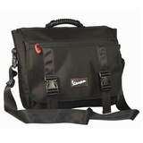 Vespa Conertible Laptop Messenger / Backpack Bag - Black