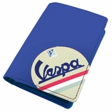 Vespa Credit Card Case Wallet - Blue