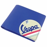 Vespa Eco-leather Wallet - Blue