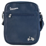 Vespa Imitation Leather Messenger Bag Ipad - Blue