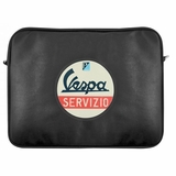 Vespa Laptop Sleeve Travel Bag - Black