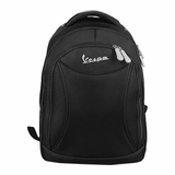 Vespa Nylon Laptop Backpack - Black