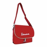 Vespa VPSB01 Messenger Bag - Red