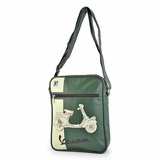Vespa VPSB15 Messenger Bag - Green