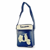 Vespa VPSB16 Messenger Bag - Blue