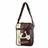 Vespa VPSB17 Messenger Bag - Brown