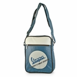 Vespa VPSB18 Messenger Bag - Blue