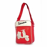 Vespa VPSB23 Messenger Bag - Red