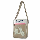 Vespa VPSB33 Messenger Bag - Tan
