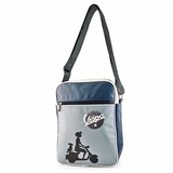 Vespa VPSB34 Messenger Bag - Blue