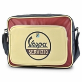 Vespa VPSB51 Messenger Bag - Cream