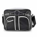 Vespa VPSB56 Messenger Bag - Black