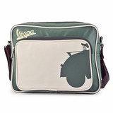 Vespa VPSB58 Messenger Bag - White/Green