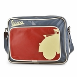 Vespa VPSB59 Messenger Bag - Blue/Red