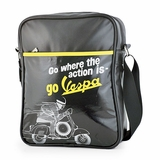 Vespa VPSB74 Messenger Bag - Black