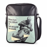 Vespa VPSB75 Messenger84 Bag - Black