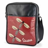 Vespa VPSB80 Messenger bag - Black/Red