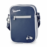 Vespa VPSC11 Small Messenger Bag - Blue