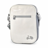 Vespa VPSC12 Small Messenger Bag - White