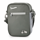 Vespa VPSC14 Small Messenger Bag - Green