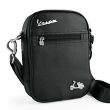 Vespa VPSC16 Mini Messenger Bag - Black