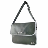 Vespa VPSC21 Messenger Bag - Dark Green