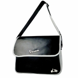 Vespa VPSC23 Messenger Bag - Black