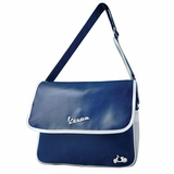 Vespa VPSC24 Messenger Bag - Blue