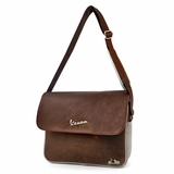 Vespa VPSC25 Messenger Bag - Brown