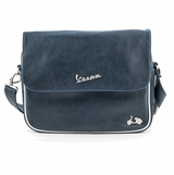 Vespa VPSC27 Messenger Bag - Blue