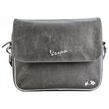 Vespa VPSC28 Imitation Leather Messenger Bags - Grey