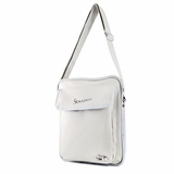 Vespa VPSC31 Vertical Messenger Bag - White