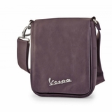 Vespa VPSC51 Manmade Leather Messenger Bag - Brown