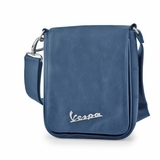 Vespa VPSC53 Manmade Leather Messenger Bag - Blue