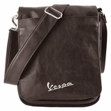 Vespa VPSC61 Imitation Leather Shoulder Bag for Ipad - Brown