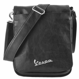 Vespa VPSC62 Imitation Leather Shoulder Bag for Ipad - Black