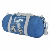 Vespa VPTB12 Nylon Folding Messenger Bag - Blue