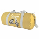 Vespa VPTB13 Nylon Folding Messenger Bag - Yellow