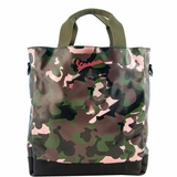 Vespa Women Tote Bag Military Camouflage - Multi-Color