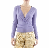 Who's Who Violet Wool Top - Violet