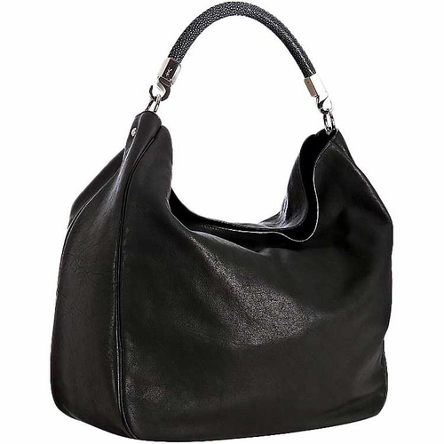 Ysl Roady Hobo Stingray Handbag Black