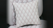 Bellezza Neck Pad Limited Diamond Stitch Cushion White