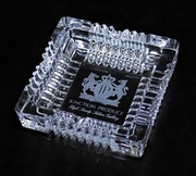 Junction Produce Luxury Crystal Ash Tray 6X6