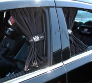 Junction Produce Luxury Curtain Black (Medium) *SALE*