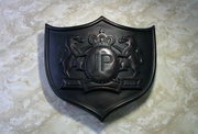 "Junction Produce VIP 21x23"" Wall Emblem Black Large"