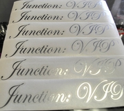 Junction:VIP Authentic Stickers Decals Chrome