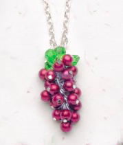 Grape Bunch Necklace